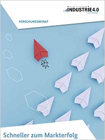 """Cover der Publikation """"Schneller zum Markterfolg"""""""