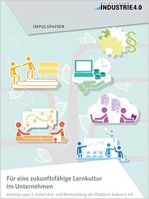 """Cover der Publikation """"Für eine zukunftsfähige Lernkultur im Unternehmen"""""""