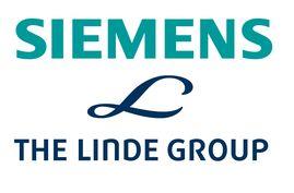 Logo Siemens und Linde Group