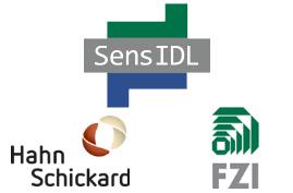 Logo SensIDL / Hahn Schickard / FZI