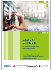 "Cover der Publikation ""Industrie 4.0 Maturity Index"""