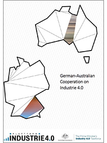 "Cover der Publikation ""German-Australian Cooperation on Industrie 4.0"""