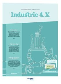 "Cover der Publikation ""Industrie 4.X"""