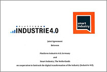 Kooperation von Industrie 4.0 und Smart Industry Program, Niederlande.