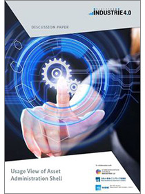 "Cover der Publikation ""Usage View Asset Administration Shell"""