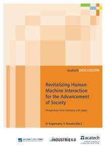 Revitalizing Human-Machine Interaction for the Advancement of Society – Perspectives from Germany and Japan