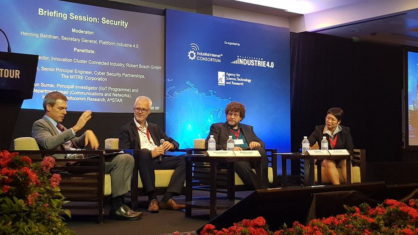 Panel at Briefing Session Security