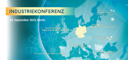 Industriekonferenz in Berlin