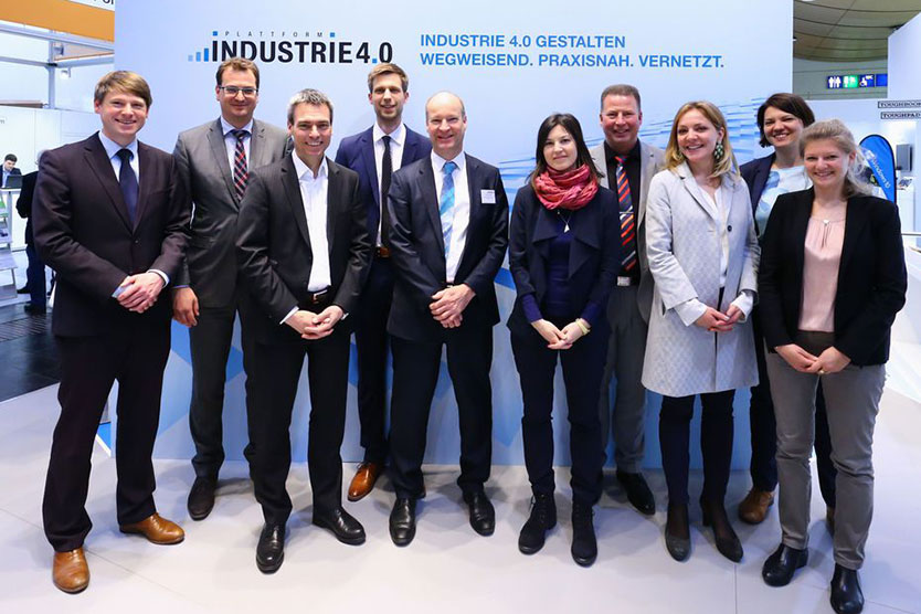 Team der Plattform Industrie 4.0