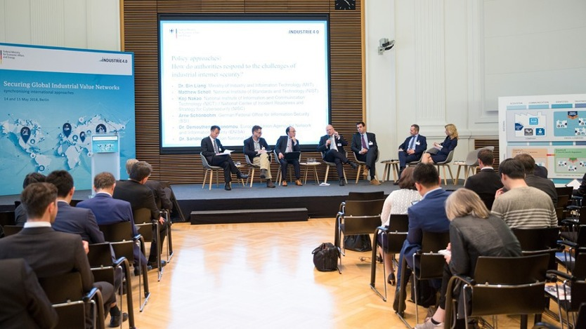 Internationales Panel auf der Konferenz Securing Global Industrial Value Chains