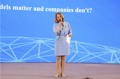 "#TechTalk ""Why business models matter and companies do not"" Prof. Svenja Falk, Managing Director, accenture Research"