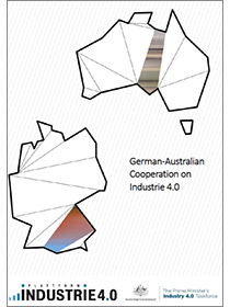 "Cover of the publication ""German-Australian Cooperation on Industrie 4.0"""