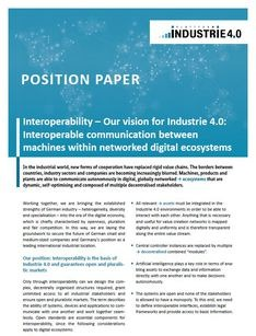 Position Paper Interoperability