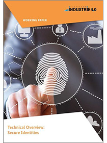 "Cover of the publication ""Technical Overview: Secure Identities"""