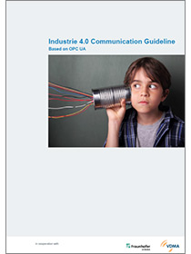 "Cover of the publication ""VDMA Guideline Industrie 4.0 Communication Guideline Based on OPC UA"""