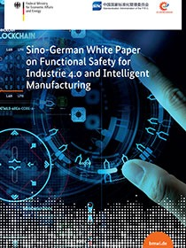 Cover of the publication Sino-German White Paper on Functional Safety for Industrie 4.0 and Intelligent Manufacturing