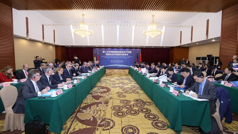Closed-Door Session of the German-Chinese Anual Meeting