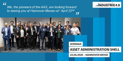 "Invitation to the ""Asset Administration Shell"" seminar"
