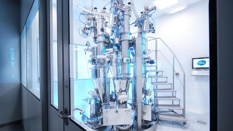 Plattform Industrie 4 0 Pfizer Manufacturing Deutschland Gmbh Continuous Mixing Technology