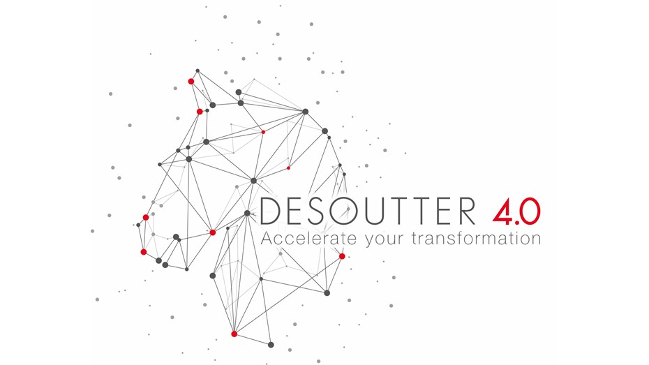 "Scan the Desoutter 4.0 logo with the free AR application ""Layar"" and learn more about the Desoutter Game Changers!"