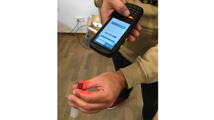 ID4i on mobile barcode scanner