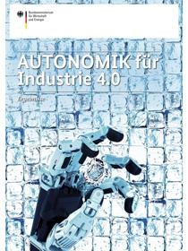 """Publikationscover """"Autonomik für Industrie 4.0"""""""