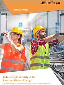 Cover der Publikation Industrie 4.0-Security in der Aus- und Weiterbildung