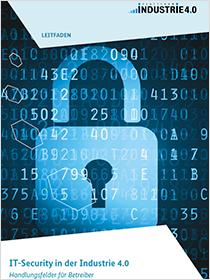 Cover der Publikation IT-Security in der Industrie 4.0